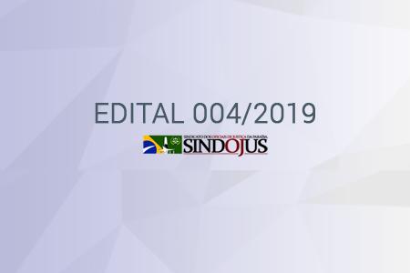 EDITAL DE CONVOCAÇÃO 004/2019